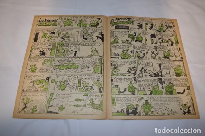 Tebeos: PULGARCITO 3 Pts. / 10 Ejemplares variados / Años 60 - XLII y XLIII - Con El Inspector DAN / Lote 02 - Foto 13 - 261677940