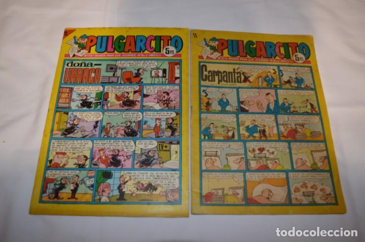 Tebeos: PULGARCITO 5 Pts / 10 Ejemplares variados / Años 60 - XLV / VI y VII - Con El Sheriff KING / Lote 03 - Foto 2 - 261683055