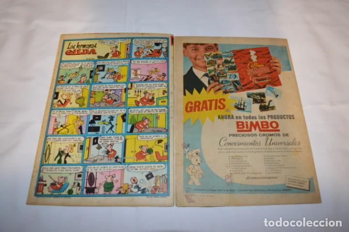 Tebeos: PULGARCITO 5 Pts / 10 Ejemplares variados / Años 60 - XLV / VI y VII - Con El Sheriff KING / Lote 03 - Foto 3 - 261683055