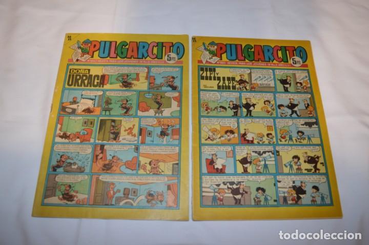 Tebeos: PULGARCITO 5 Pts / 10 Ejemplares variados / Años 60 - XLV / VI y VII - Con El Sheriff KING / Lote 03 - Foto 4 - 261683055