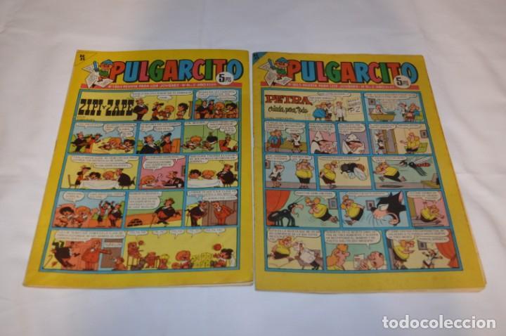 Tebeos: PULGARCITO 5 Pts / 10 Ejemplares variados / Años 60 - XLV / VI y VII - Con El Sheriff KING / Lote 03 - Foto 6 - 261683055