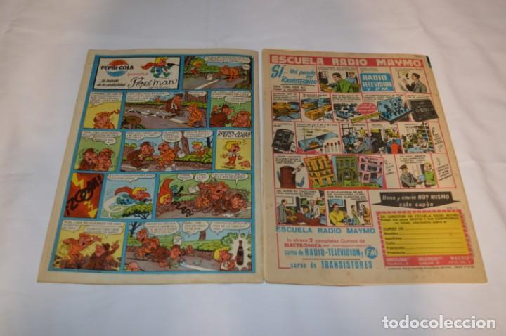 Tebeos: PULGARCITO 5 Pts / 10 Ejemplares variados / Años 60 - XLV / VI y VII - Con El Sheriff KING / Lote 03 - Foto 7 - 261683055