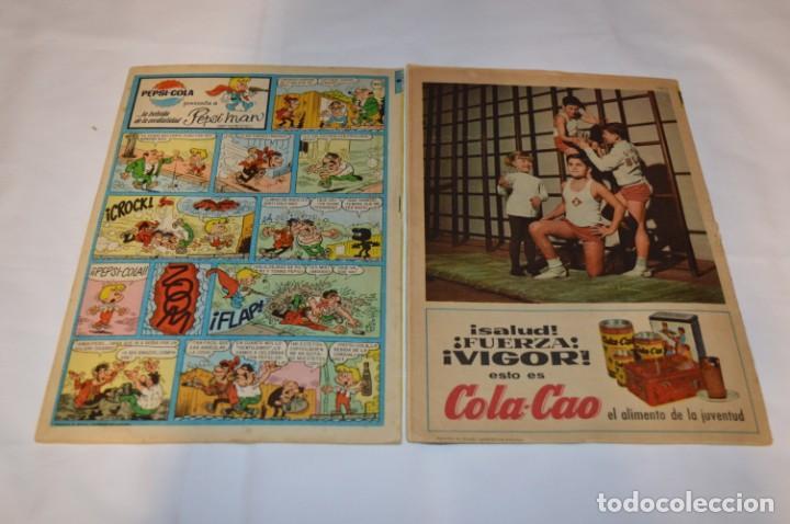 Tebeos: PULGARCITO 5 Pts / 10 Ejemplares variados / Años 60 - XLV / VI y VII - Con El Sheriff KING / Lote 03 - Foto 9 - 261683055