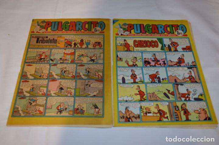Tebeos: PULGARCITO 5 Pts / 10 Ejemplares variados / Años 60 - XLV / VI y VII - Con El Sheriff KING / Lote 03 - Foto 10 - 261683055