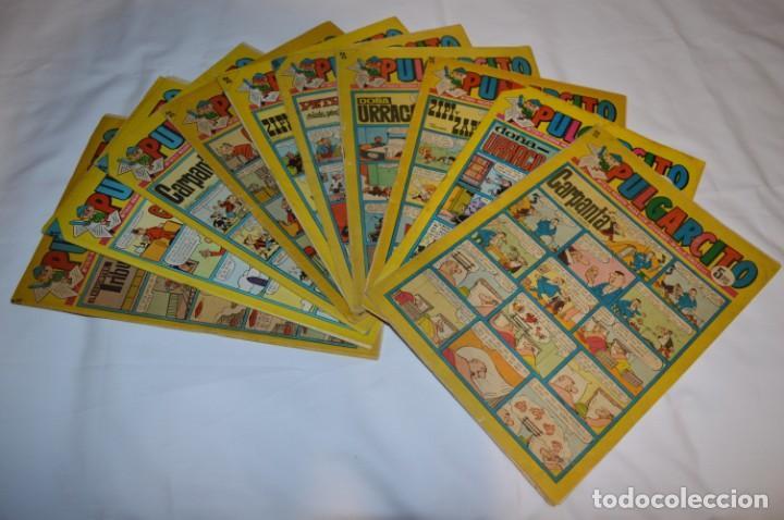 PULGARCITO 5 PTS / 10 EJEMPLARES VARIADOS / AÑOS 60 - XLV / VI Y VII - CON EL SHERIFF KING / LOTE 03 (Tebeos y Comics - Bruguera - Pulgarcito)