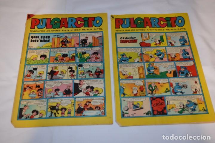 Tebeos: PULGARCITO 5 Pts / 10 Ejemplares variados / Años 60 - XLVII y XLVIII - Con El Sheriff KING / Lote 05 - Foto 2 - 261689635