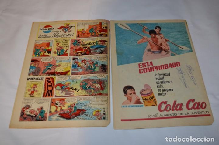Tebeos: PULGARCITO 5 Pts / 10 Ejemplares variados / Años 60 - XLVII y XLVIII - Con El Sheriff KING / Lote 05 - Foto 3 - 261689635
