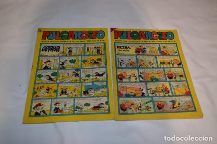 Tebeos: PULGARCITO 5 Pts / 10 Ejemplares variados / Años 60 - XLVII y XLVIII - Con El Sheriff KING / Lote 05 - Foto 6 - 261689635