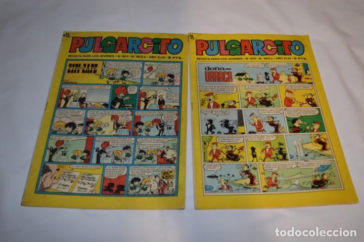Tebeos: PULGARCITO 5 Pts / 10 Ejemplares variados / Años 60 - XLVII y XLVIII - Con El Sheriff KING / Lote 05 - Foto 8 - 261689635