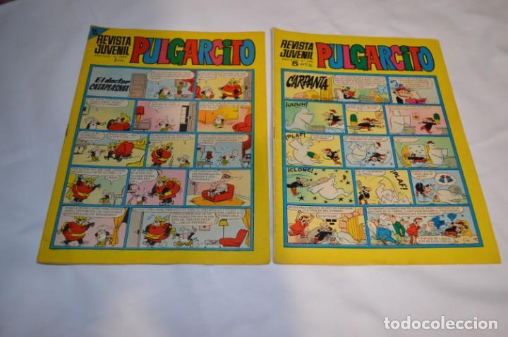 Tebeos: PULGARCITO 5 Pts / 10 Ejemplares variados / Años 60 - XLVII y XLVIII - Con El Sheriff KING / Lote 05 - Foto 10 - 261689635