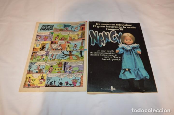 Tebeos: PULGARCITO / 10 Ejemplares variados / Años 70 - Con El Sheriff KING / Lote 06 - Foto 3 - 261692830
