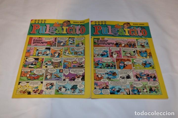 Tebeos: PULGARCITO / 10 Ejemplares variados / Años 70 - Con El Sheriff KING / Lote 06 - Foto 4 - 261692830