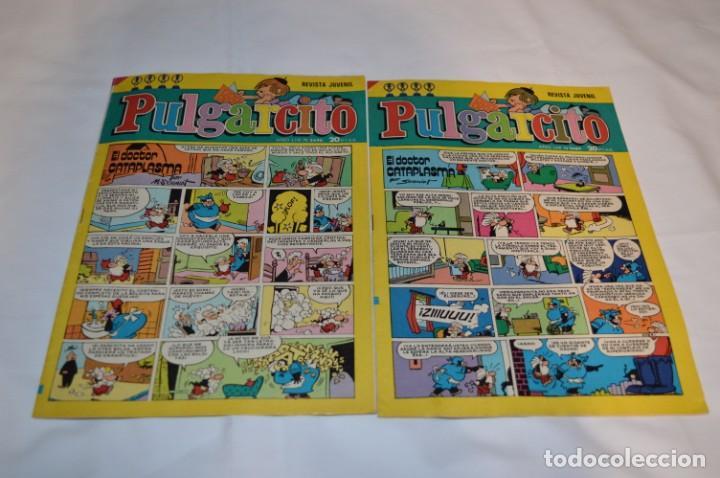 Tebeos: PULGARCITO / 10 Ejemplares variados / Años 70 - Con El Sheriff KING / Lote 06 - Foto 6 - 261692830