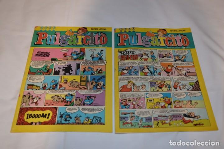 Tebeos: PULGARCITO / 10 Ejemplares variados / Años 70 - Con El Sheriff KING / Lote 06 - Foto 8 - 261692830