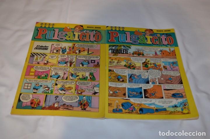 Tebeos: PULGARCITO / 10 Ejemplares variados / Años 70 - Con El Sheriff KING / Lote 06 - Foto 10 - 261692830