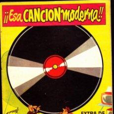 Tebeos: COMIC COLECCION EL DDT EXTRAORDINADIO ESA CANCION MODERNA. Lote 261782495