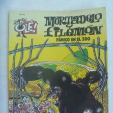 Tebeos: OLE ! , MORTADELO Y FILEMON , Nº 54 : PANICO EN EL ZOO . 5ª EDICION 2007. Lote 261908025