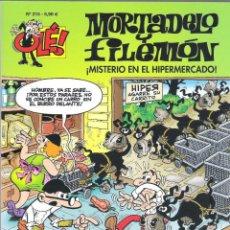 Tebeos: OLE MORTADELO Y FILEMON 215 MISTERIO EN EL HIPERMERCADO , IBAÑEZ. Lote 261914565