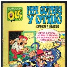 Tebeos: PEPE GOTERA Y OTILIO - COLECCION OLE Nº 1 - 4ª! EDICIÓN 03-03-1980. Lote 261920720