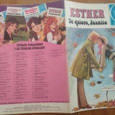 Tebeos: JOYAS LITERARIAS JUVENILES SERIE AZUL Nº 68. ESTHER. 1ª EDICIÓN BRUGUERA 1981.. Lote 261925445