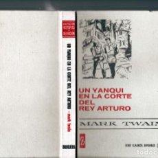Tebeos: MARK TWAIN : UN YANQUI EN LA CORTE DEL REY ARTURO (H.SELECCIÓN Nº 34 BRUGUERA, 1971). Lote 262030235