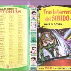 Tebeos: WALT G. DOVAN : TRAS LA BARRERA DEL SONIDO (H.SELECCIÓN Nº 117 BRUGUERA, 1960). Lote 262032060