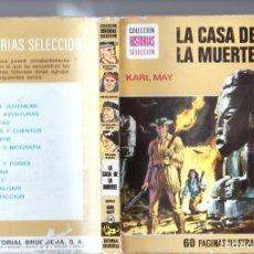 Tebeos: KARL MAY : LA CASA DE LA MUERTE (H.SELECCIÓN Nº 14 BRUGUERA, 1974). Lote 262032435