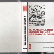Tebeos: EL MARAVILLOSO MUNDO DE LOS HERMANOS GRIMM (H.SELECCIÓN Nº 9 BRUGUERA, 1967). Lote 262033515