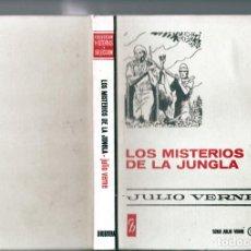 Tebeos: JULIO VERNE : LOS MISTERIOS DE LA JUNGLA (H.SELECCIÓN Nº 13 BRUGUERA, 1972). Lote 262033915