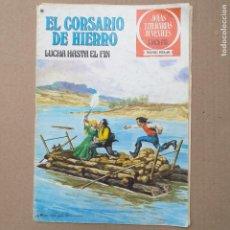 BDs: LUCHA HASTA EL FIN. EL CORSARIO DE HIERRO. JOYAS LITERARIAS JUVENILES SERIE ROJA. NUM 45. Lote 262042150