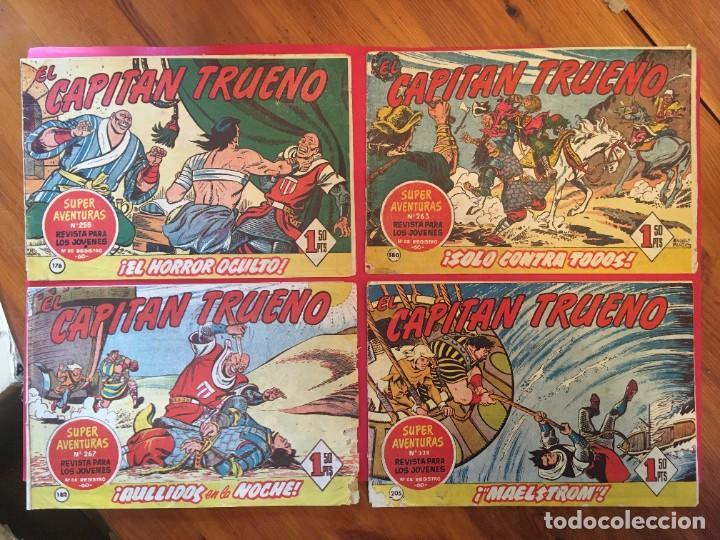 COMIC EL CAPITAN TRUENO Nº 176 -180 -182 -205 - (Tebeos y Comics - Bruguera - Capitán Trueno)