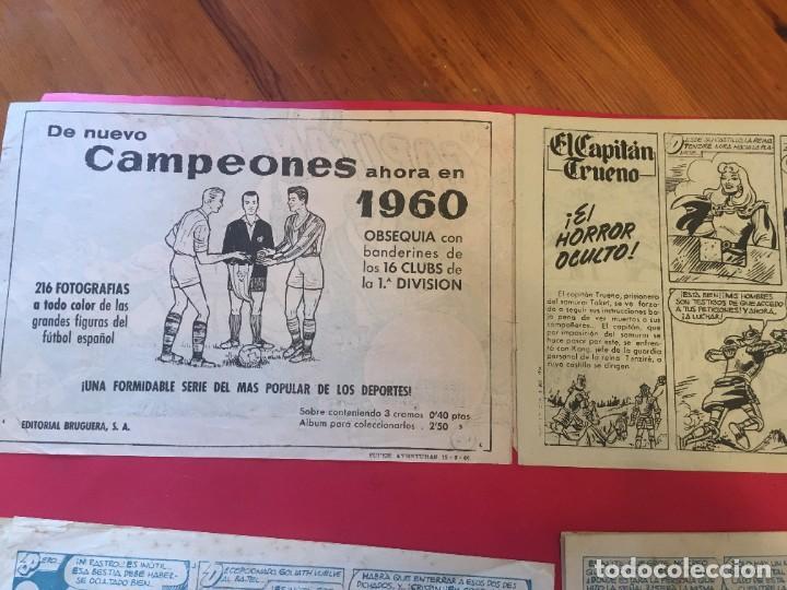 Tebeos: comic el capitan trueno Nº 176 -180 -182 -205 - - Foto 3 - 262049465