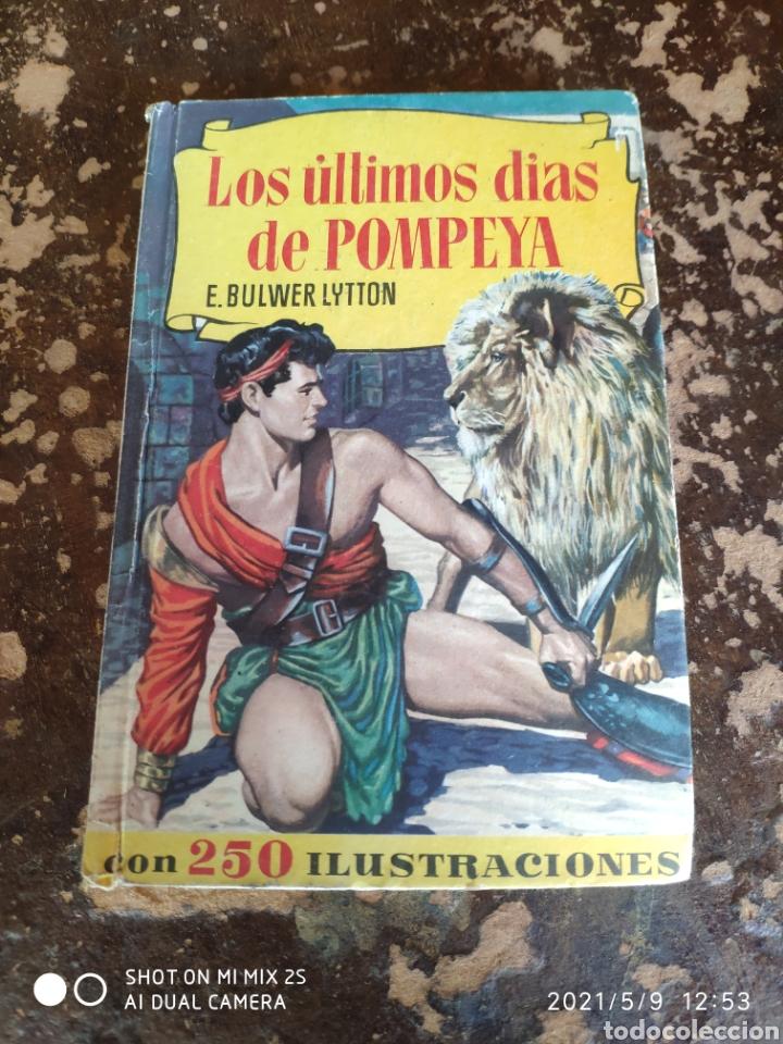 COLECCION HISTORIAS N° 83: LOS ULTIMOS DIAS DE POMPEYA (E. BULWER LYTTON) (ED. BRUGUERA) (Tebeos y Comics - Bruguera - Historias Selección)