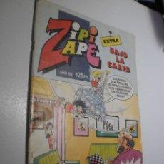 Tebeos: ZIPI Y ZAPE Nº 64 EXTRA BAJO LA CARPA. 1984 (BUEN ESTADO). Lote 262051005