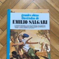 Tebeos: GRANDES OBRAS ILUSTRADAS Nº 9: EMILIO SALGARI - MUY BUEN ESTADO. Lote 262052135