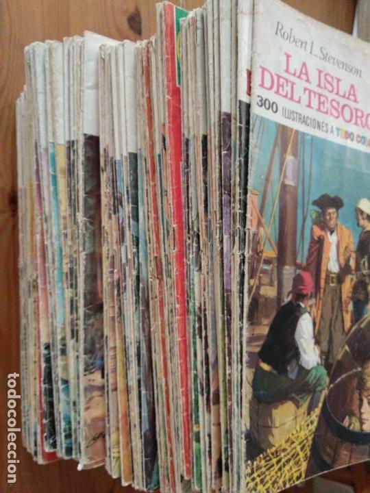 90 JOYAS LITERARIAS JUVENILES - TODOS DIFERENTES- VER DETALLES. (Tebeos y Comics - Bruguera - Joyas Literarias)