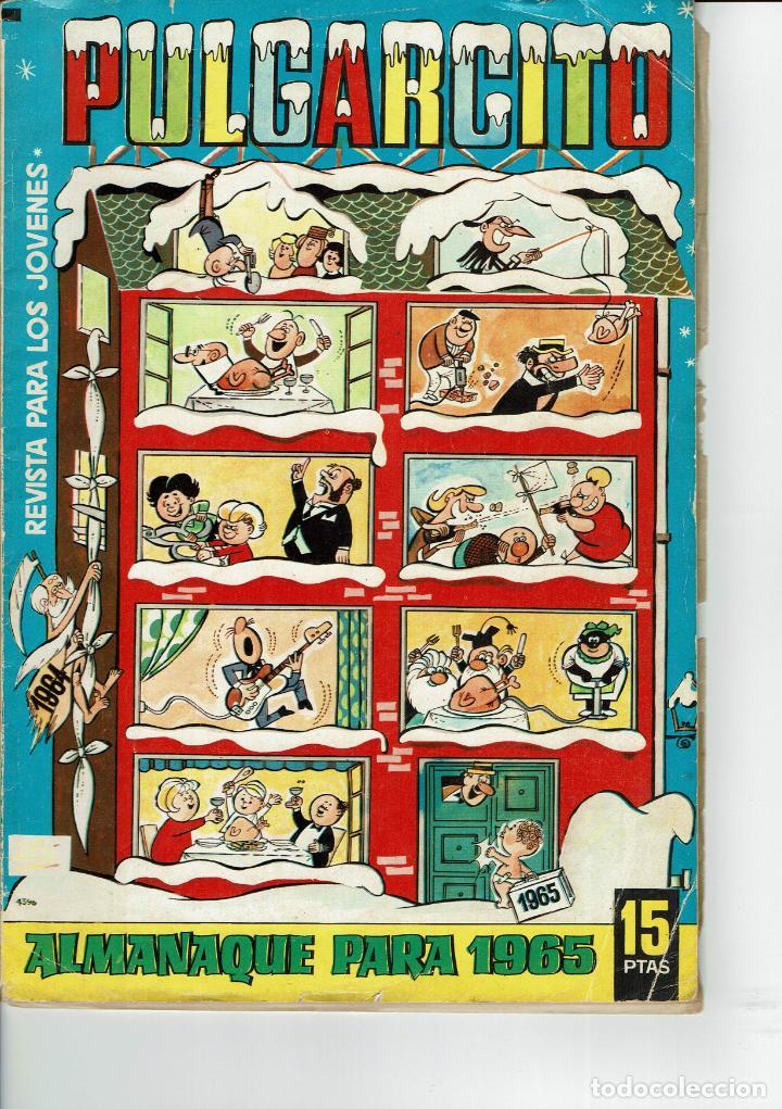 PULGARCITO ALMANAQUE PARA 1965 (Tebeos y Comics - Bruguera - Pulgarcito)