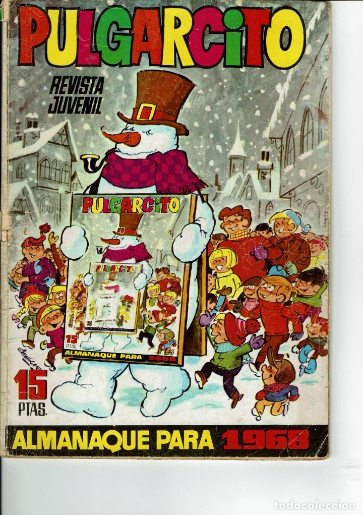 PULGARCITO ALMANAQUE PARA 1968 (Tebeos y Comics - Bruguera - Pulgarcito)