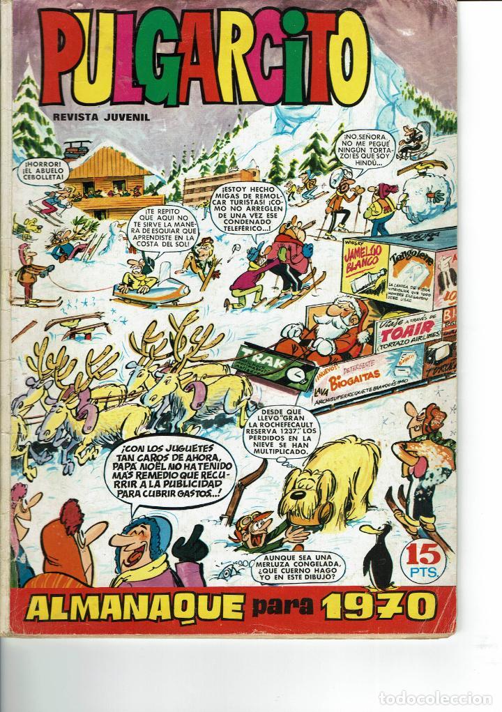 PULGARCITO ALMANAQUE PARA 1970 (Tebeos y Comics - Bruguera - Pulgarcito)