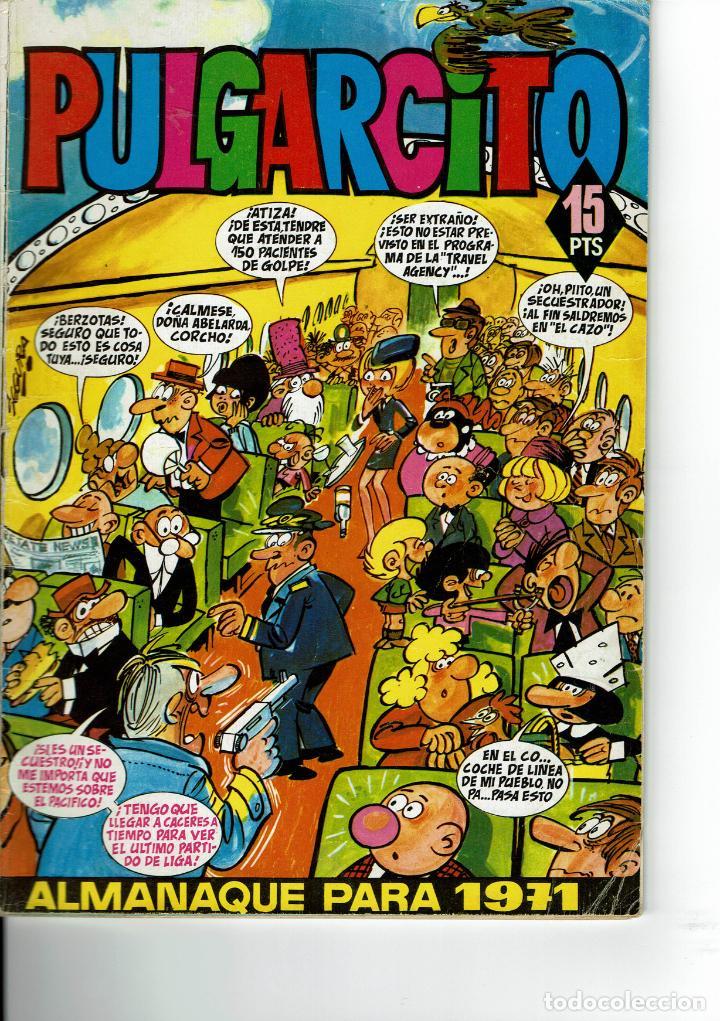 PULGARCITO ALMANAQUE PARA 1971 (Tebeos y Comics - Bruguera - Pulgarcito)