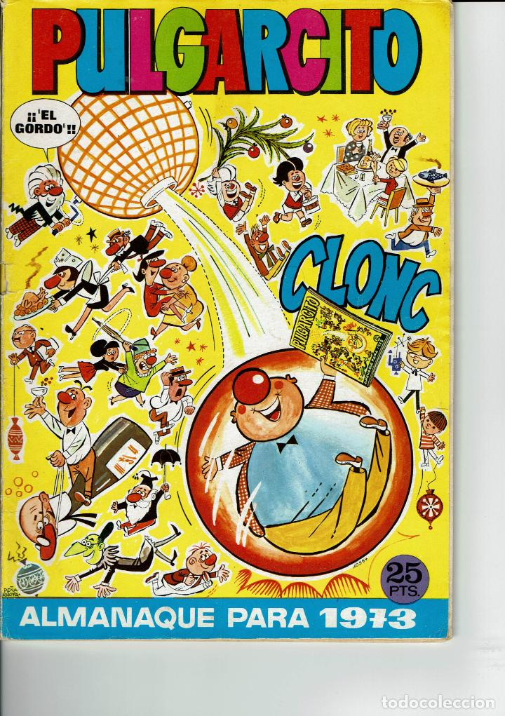 PULGARCITO ALMANAQUE PARA 1973 (Tebeos y Comics - Bruguera - Pulgarcito)