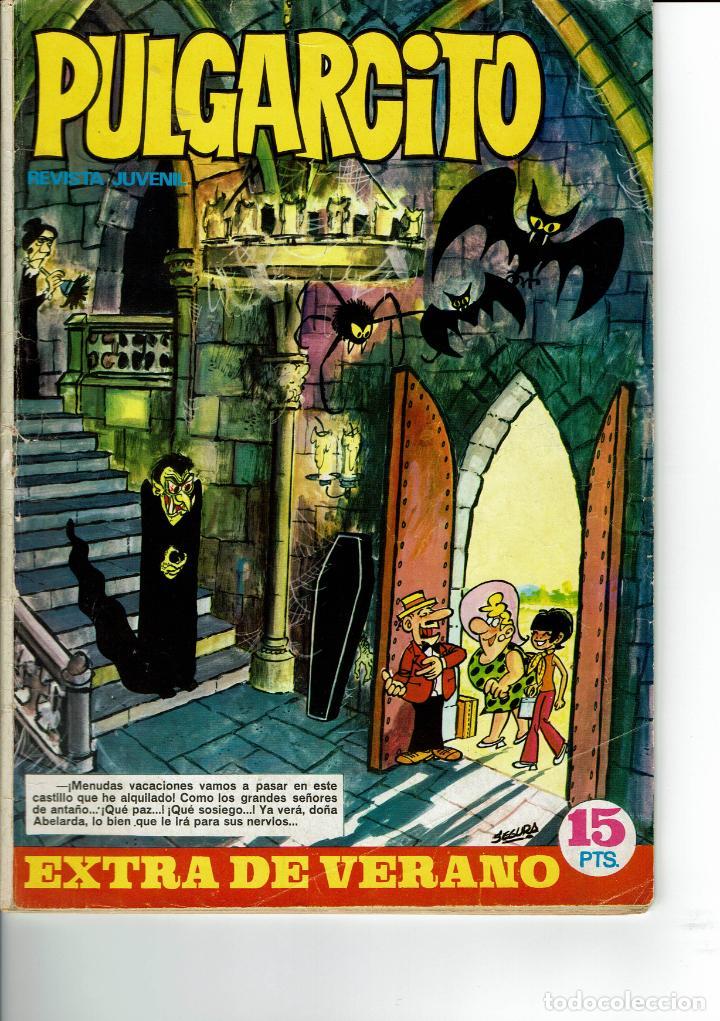 PULGARCITO EXTRA VERANO 1970 (Tebeos y Comics - Bruguera - Pulgarcito)