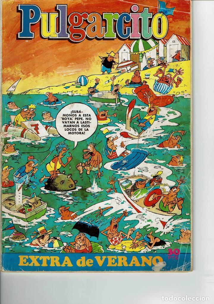 PULGARCITO EXTRA VERANO 1974 (Tebeos y Comics - Bruguera - Pulgarcito)