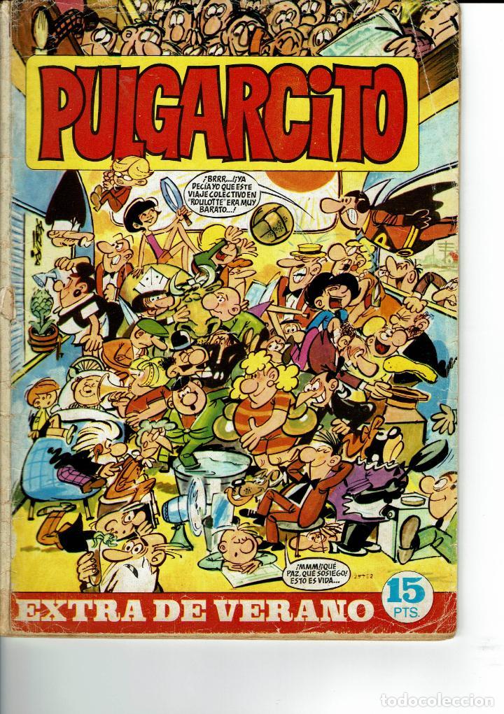 PULGARCITO EXTRA VERANO 1969 (Tebeos y Comics - Bruguera - Pulgarcito)