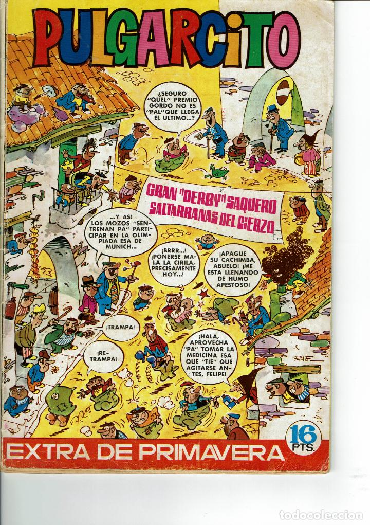 PULGARCITO EXTRA PRIMAVERA 1972 (Tebeos y Comics - Bruguera - Pulgarcito)