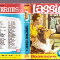 Tebeos: LASSIE ; EL BOSQUE CANADIENSE (COL. HÉROES Nº 22 BRUGUERA, 1963)1ª EDICIÓN Nº PÁGINAS: 255 ESTADO. Lote 262081195