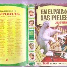 Tebeos: COLECCION HISTORIAS Nº 192 EN EL PAIS DE LAS PIELES / JULIO VERNE 1ª EDICION 1964 EDITA : BRUGUERA. Lote 262081715