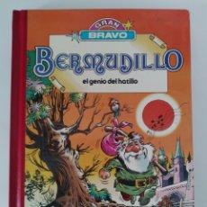 Tebeos: BERMUDILLO EL GENIO DEL HATILLO N°1.EDITORIAL BRUGUERA EN 1982. TAPAS DURAS. TAMAÑO 27 X 19 CM.. Lote 262103545