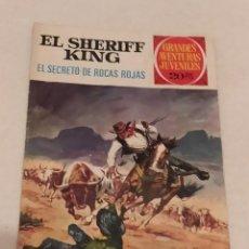 Tebeos: EL SHERIFF KING. EL SECRETO DE LAS ROCAS ROJAS. BRUGUERA. GRANDES AVENTURAS JUVENILES. Lote 262107025