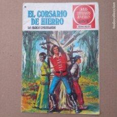 BDs: LA ALDEA EMBRUJADA. EL CORSARIO DE HIERRO. JOYAS LITERARIAS JUVENILES SERIE ROJA NUM 40. Lote 262118370
